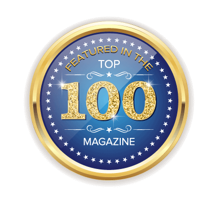 Top 100 Magazine Badge