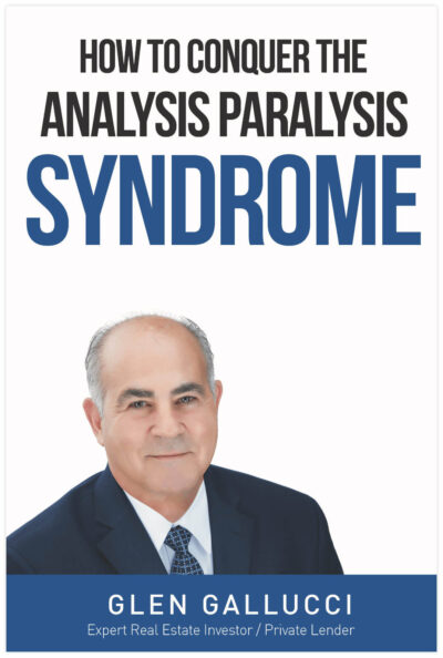 Ebook Cover Analysis Paralysis by Glen Gallucci